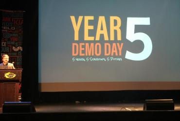 Presentation Slide that says Year Demo Day 5